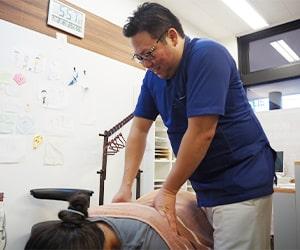 腰の痛み施術